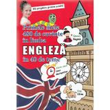 Primele mele 480 de cuvinte in limba engleza in 40 de teme, editura Pescarus