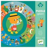Puzzle Geant: The Year. Puzzle circular: Anotimpurile