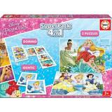 Puzzle Superpack 4 in 1. Disney Princess