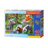 Puzzle 40 castorland - jungle animals