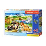 Puzzle 40 maxi castorland - safari adventure