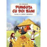 Punguta cu doi bani - Ion Creanga, editura Pescarus