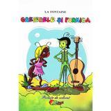 Greierele si furnica - La Fontaine, editura Roxel Cart