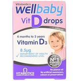 Wellbaby Vitamina D3 Picaturi Vitabiotics, 30 ml