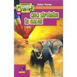 Cinci saptamani in balon - Jules Verne, editura Andreas