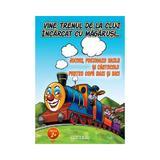 Vine trenul de la Cluj, incarcat cu magarusi - Jocuri, poezioare hazlii si cantecele pentru copii, editura Anteea