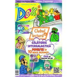 Doxi. Clubul de lectura: Calatorie intergalactica. Poveste in 10 benzi desenate, editura Cd Press