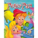 Peter Pan. Povesti cu 6 puzzle-uri, editura Girasol