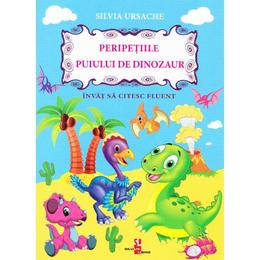 Peripetiile puiului de dinozaur - Silvia Ursache, editura Silvius Libris