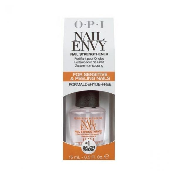 Tratament pentru Unghii Exfoliate si Sensibil - OPI NailEnvy - For Sensitive & Peeling Nails, 15ml imagine produs