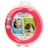 Olita portabila si reductor culoarea roz - 2 in 1 Potette Plus