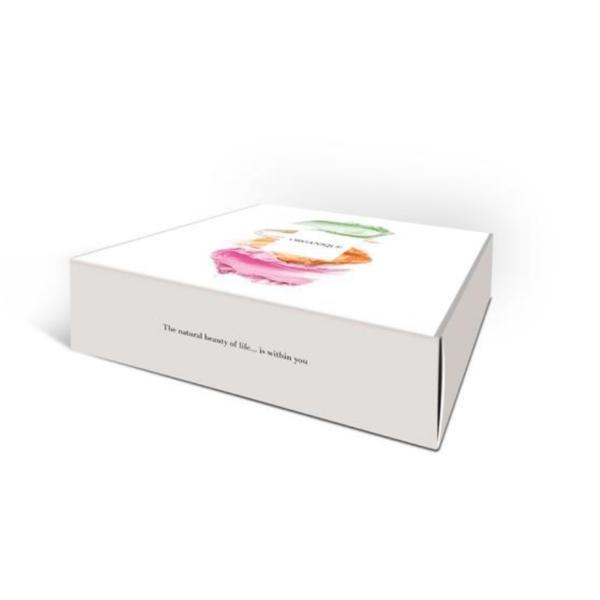 Set cadou 4 bile baie, Sparkling Touch, 680g - Organique imagine produs