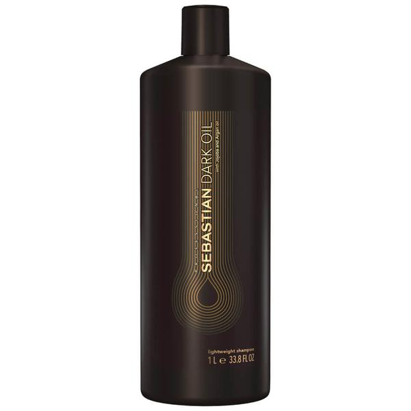 Sampon - Sebastian Professional Dark Oil Lightweight Shampoo, 1000 ml imagine produs