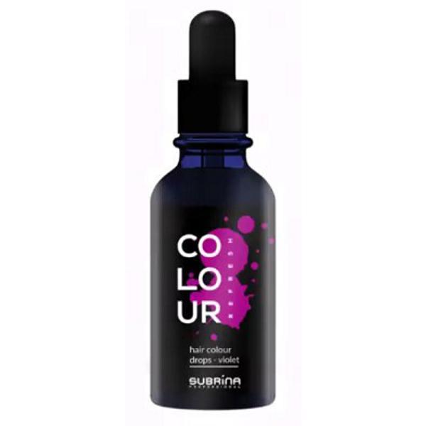 Pigment Violet - Subrina Colour Drops Violet, 50 ml imagine produs