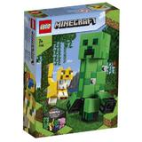 LEGO Minecraft - Creeper BigFig si Ocelot