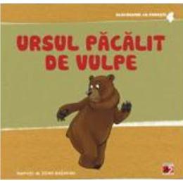 Ursul pacalit de vulpe - Acordeonul cu povesti 4, editura Paralela 45