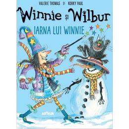 Winnie si Wilbur: Iarna lui Winnie - Valerie Thomas, Korky Paul, editura Grupul Editorial Art