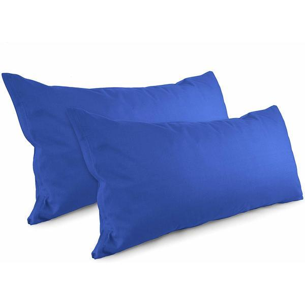 Set 2 fete de perna Patru Anotimpuri 50 x 70 cm bumbac 100% Albastru
