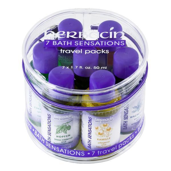 Set cadou uleiuri de baie (set 7 piese) 350ml Herbacin