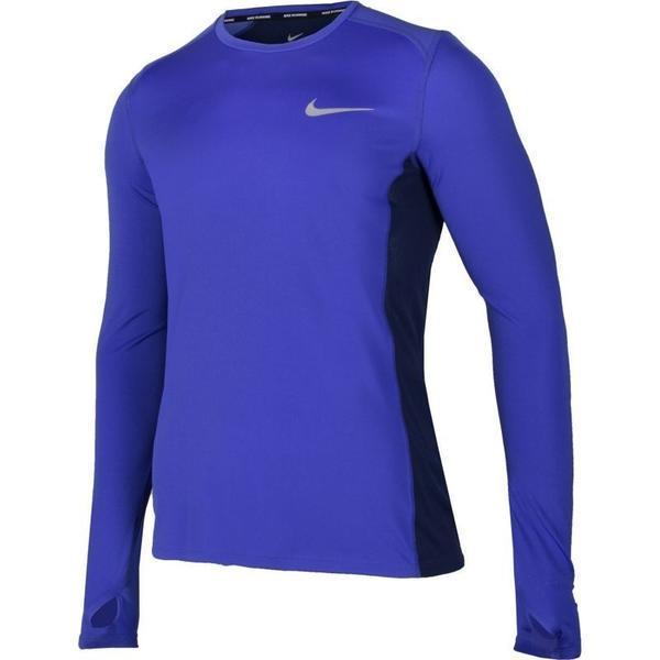 Bluza barbati Nike Dry Miler Top 833593-452, XL, Albastru