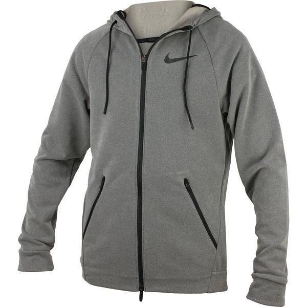 Hanorac barbati Nike Dry Fz Hyper Flc 833896-038, XL, Gri