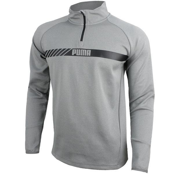 Bluza barbati Puma Active Tec Stretch HalfZip 59423803, XL, Gri