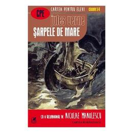Sarpele de mare - Jules Verne, editura Cartea Romaneasca