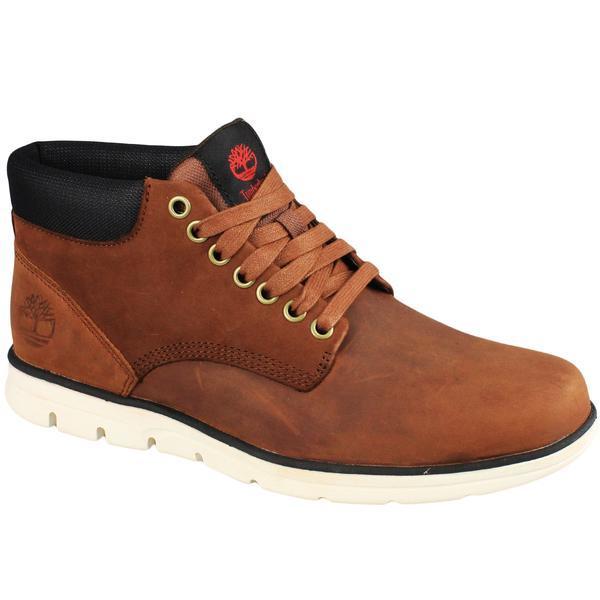 Ghete barbati Timberland Bradstreet Chukka Leather A13EE, 44.5, Maro