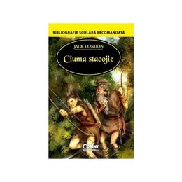 Ciuma stacojie - Jack London, editura Corint