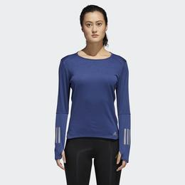 Bluza femei adidas Performance Response Long Sleeve Tee CF2120, XS, Albastru