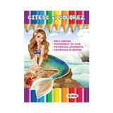 Citesc si colorez: Mica Sirena, editura Dorinta