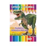 Citesc si colorez: Tainele dinozaurilor, editura Dorinta