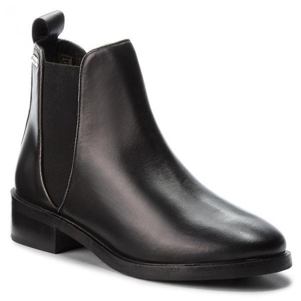 Ghete femei Pepe Jeans Devon Basic PLS50332-999, 38, Negru