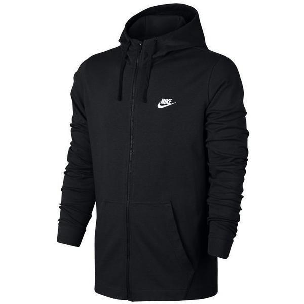 Hanorac barbati Nike M NSW Hoodie FZ JSY Club 861754-010, XXL, Negru