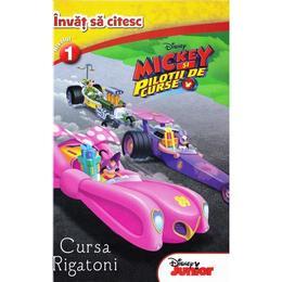 Mickey si pilotii de curse - Invat sa citesc nivelul 1, editura Litera