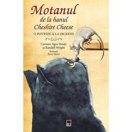 Motanul de la hanul Cheshire Cheese - Carmen Agra Deedy, Randall Wright, editura Rao