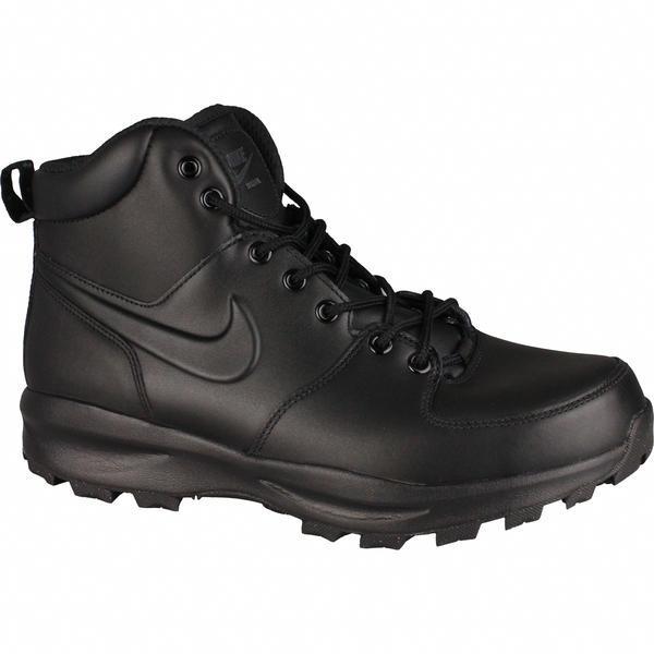 Ghete barbati Nike Manoa Leather 454350-003, 40, Negru