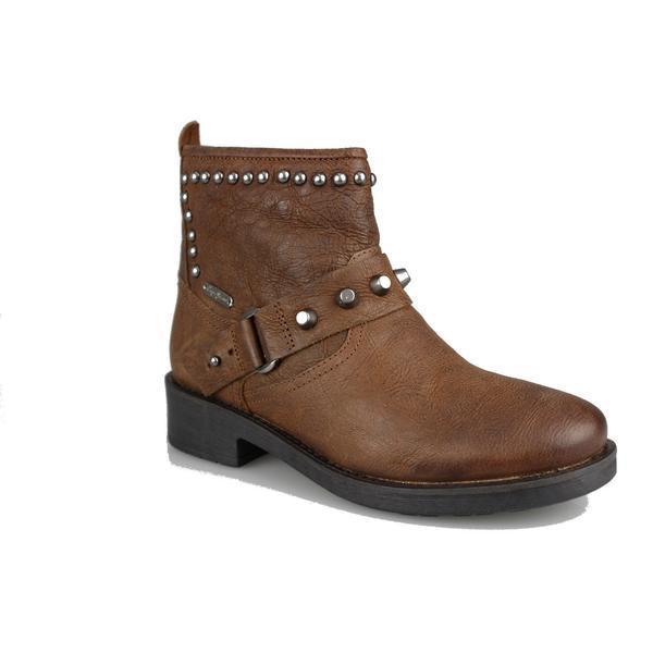 Ghete femei Pepe Jeans Maddox Ring PLS50348-875, 38, Maro
