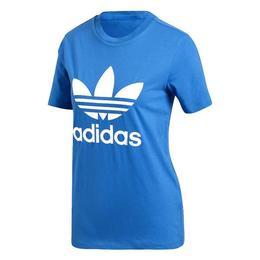 Tricou femei adidas Originals adidas Trefoil Tee DH3132, M, Albastru
