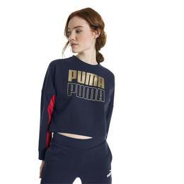 Bluza femei Puma Modern Sport Crew Sweat 85258506, M, Albastru