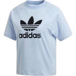 Tricou femei adidas Originals TeeBlue DU9870, M, Albastru