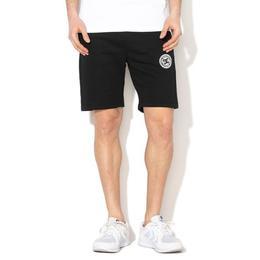 Pantaloni scurti barbati DC Shoes New Rebel Black Fleece JerseyJogging Gym EDYFB03064-KVJ0, L, Negru