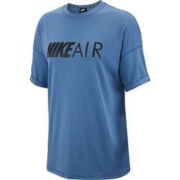 Tricou femei Nike Sportswear AR3147-458, L, Albastru