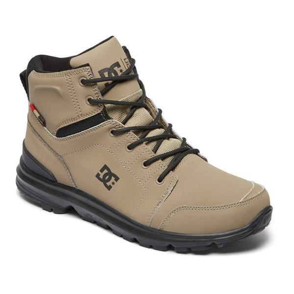 Ghete barbati DC Shoes Torstein Lace-Up Leather Boots ADMB700008-TMB, 41, Maro