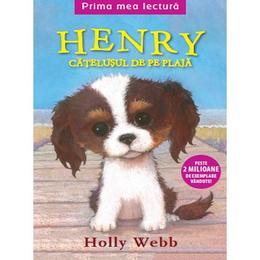 Henry, catelusul de pe plaja - Holly Webb, editura Litera
