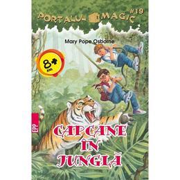 Portalul magic 19: Capcane in jungla - Mary Pope Osborne, editura Paralela 45