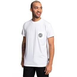 Tricou Barbati Dc Shoes Basic Pocket T-shirt Edykt03463-wbb0, Xl, Alb