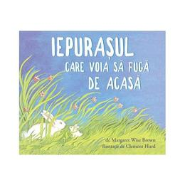 Iepurasul care voia sa fuga de acasa - Margaret Wise Brown, Clement Hurd, editura Grupul Editorial Art