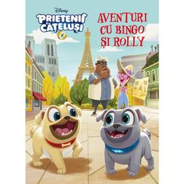 Disney Prietenii catelusi - Aventuri cu Bingo si Rolly, editura Litera