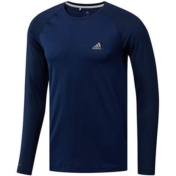 Bluza barbati adidas Performance Climacool Base Layer T-Shirt DX1332, S, Albastru